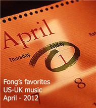 My April Favorites US-UK Songs (2012)