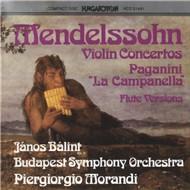 Violin Concertos On Flute - Mendelssohn