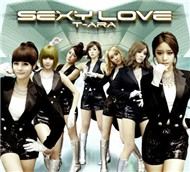 Sexy Love (Japanese Single - Normal Version 2012) - T-ara