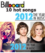 Billboard 10 Hot Songs 2012