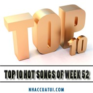 Top 10 Hot Songs (Week 52/2012)