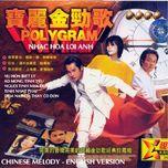 nhac hoa loi anh  (chinese melody english version) - v.a